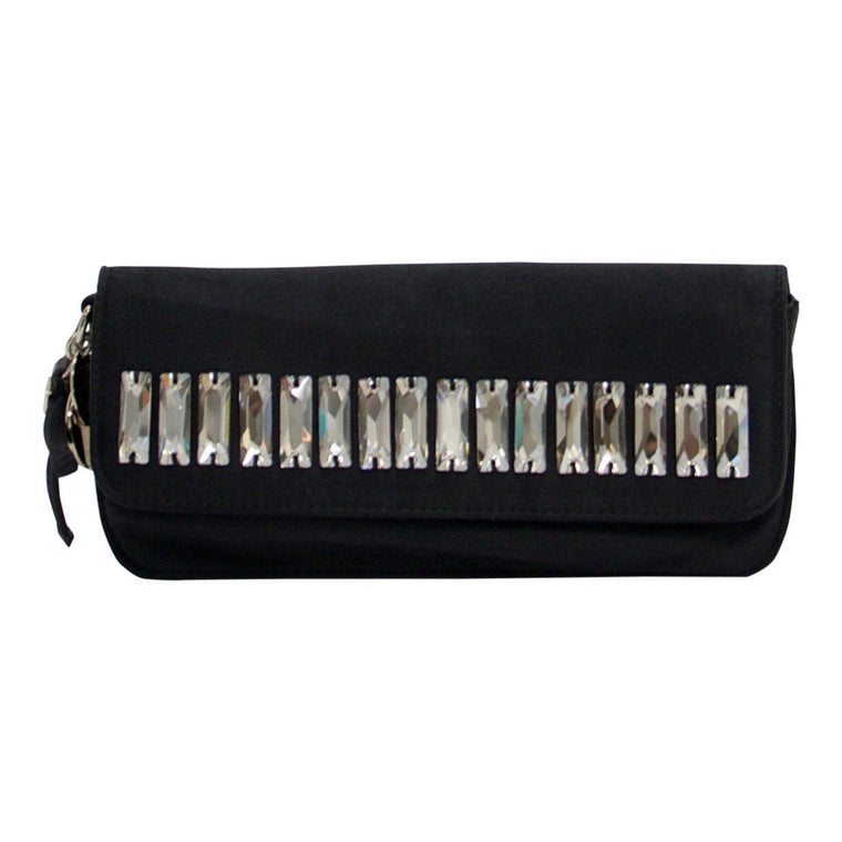Gucci Black Moonlight Evening Clutch