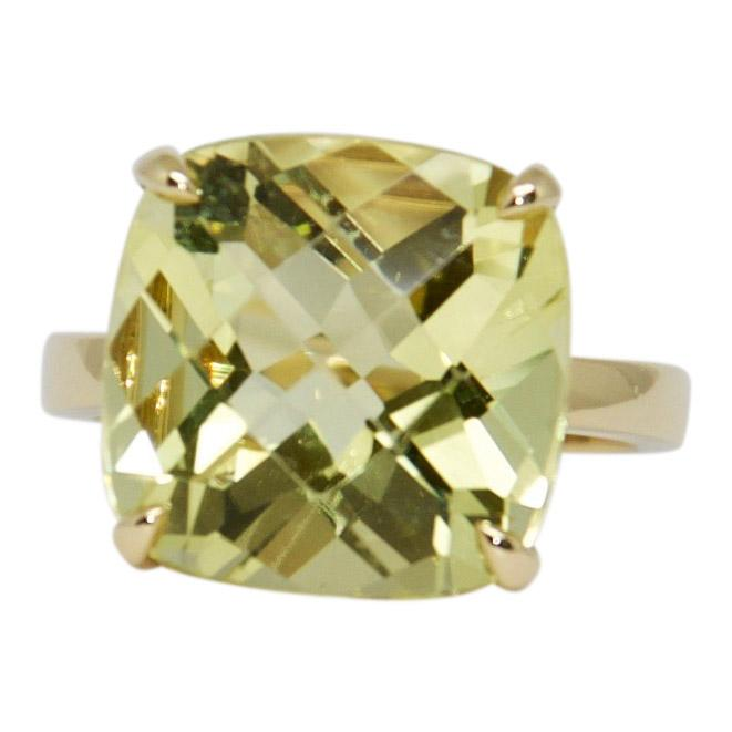 Tiffany & Co. Gold Sparklers Ring with Citrine