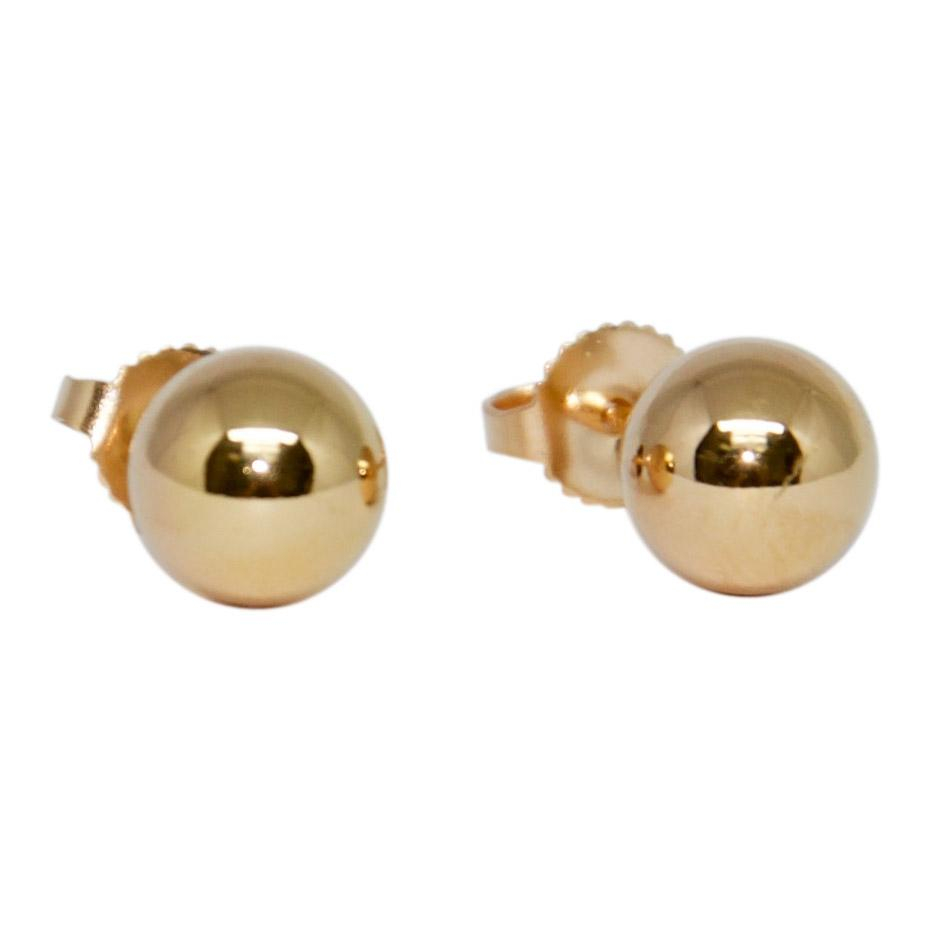 Tiffany & Co. HardWear Ball Gold Earrings Earrings Tiffany & Co.