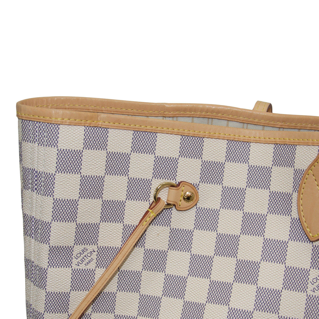 Louis Vuitton Damier Azur Neverfull Gm With Pouch - Bags