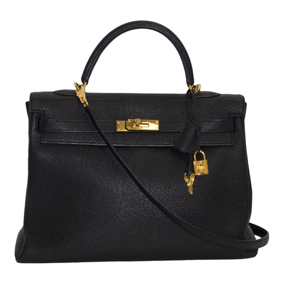Hermes Black Kelly 35 - Bags