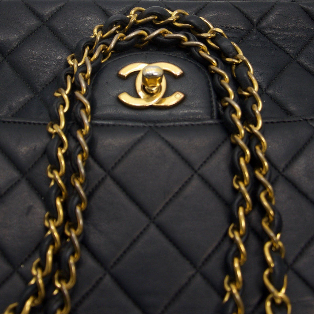 Chanel Vintage Medium Double Sided Flap Bag