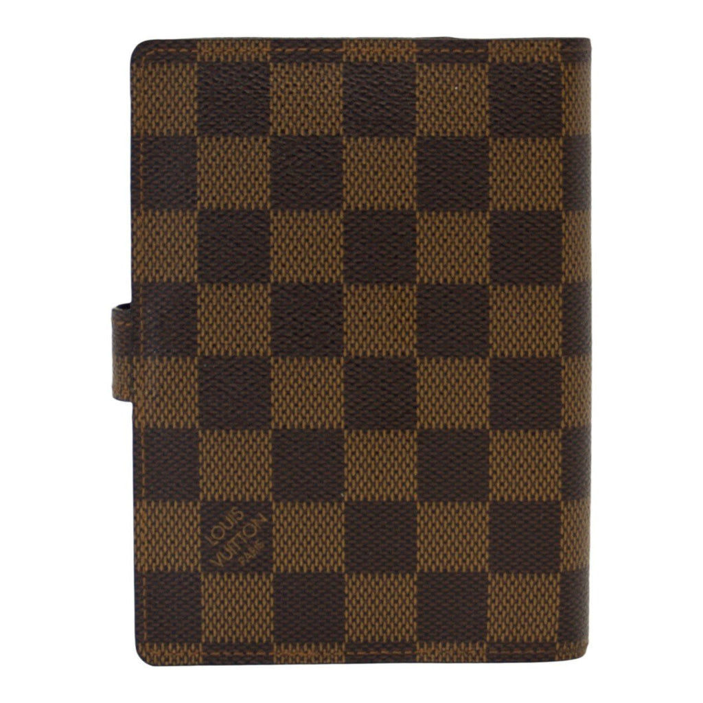 Louis Vuitton Damier Ebene Small Ring Agenda Cover