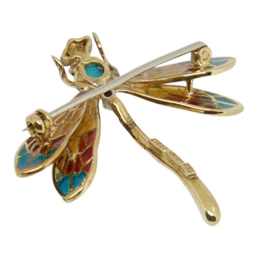 Tiffany & Co. Vintage Dragonfly Brooch Brooches & Pins Tiffany & Co.