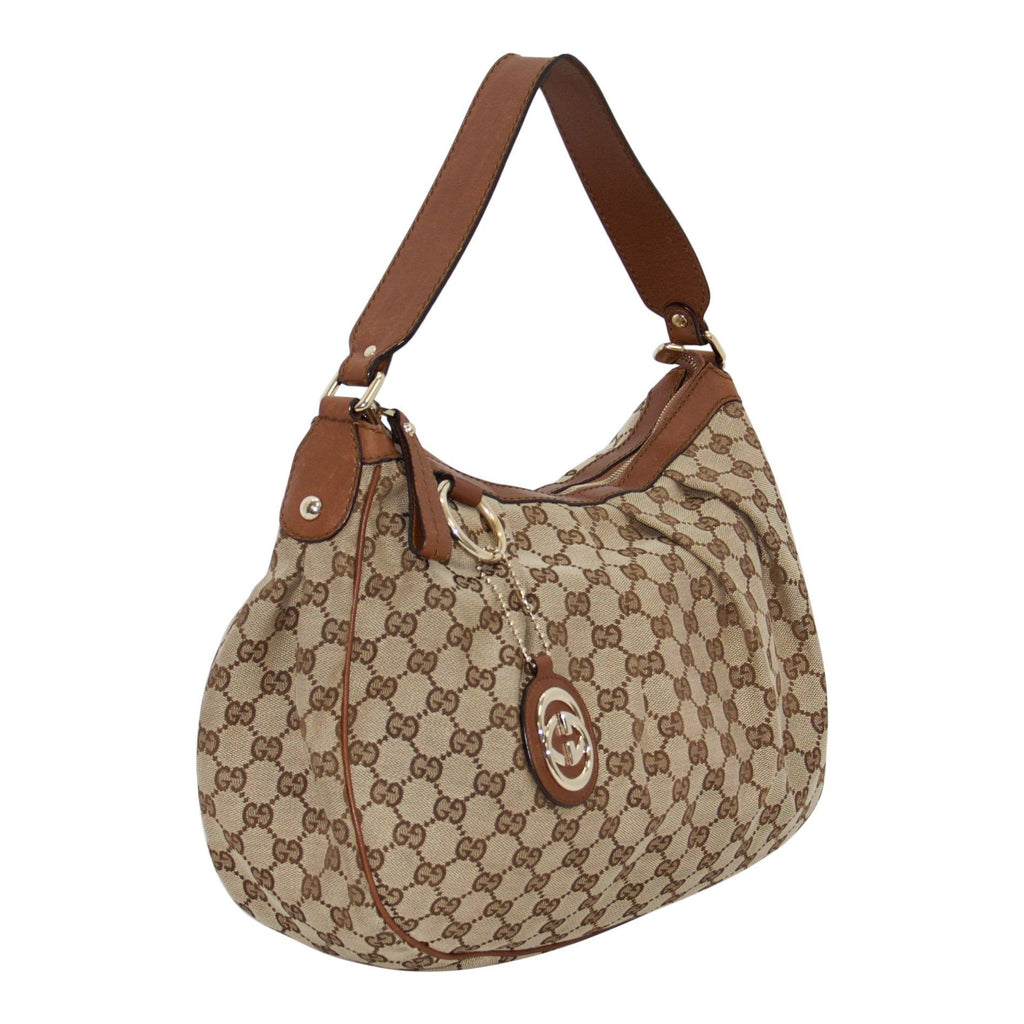 Gucci Medium Gg Canvas Sukey Tote - Bags