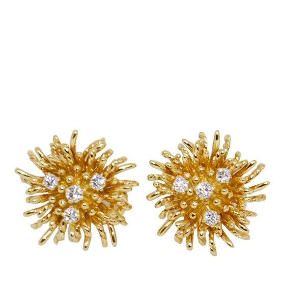 Tiffany & Co. Shclumberger Anemone Diamond Earrings Earrings Tiffany & Co.