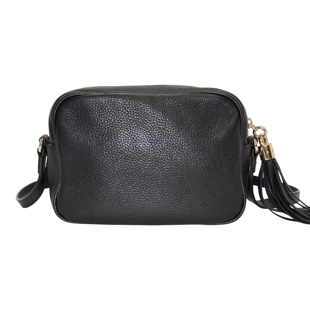 Gucci Black Soho Disco Crossbody Bag Bags Gucci