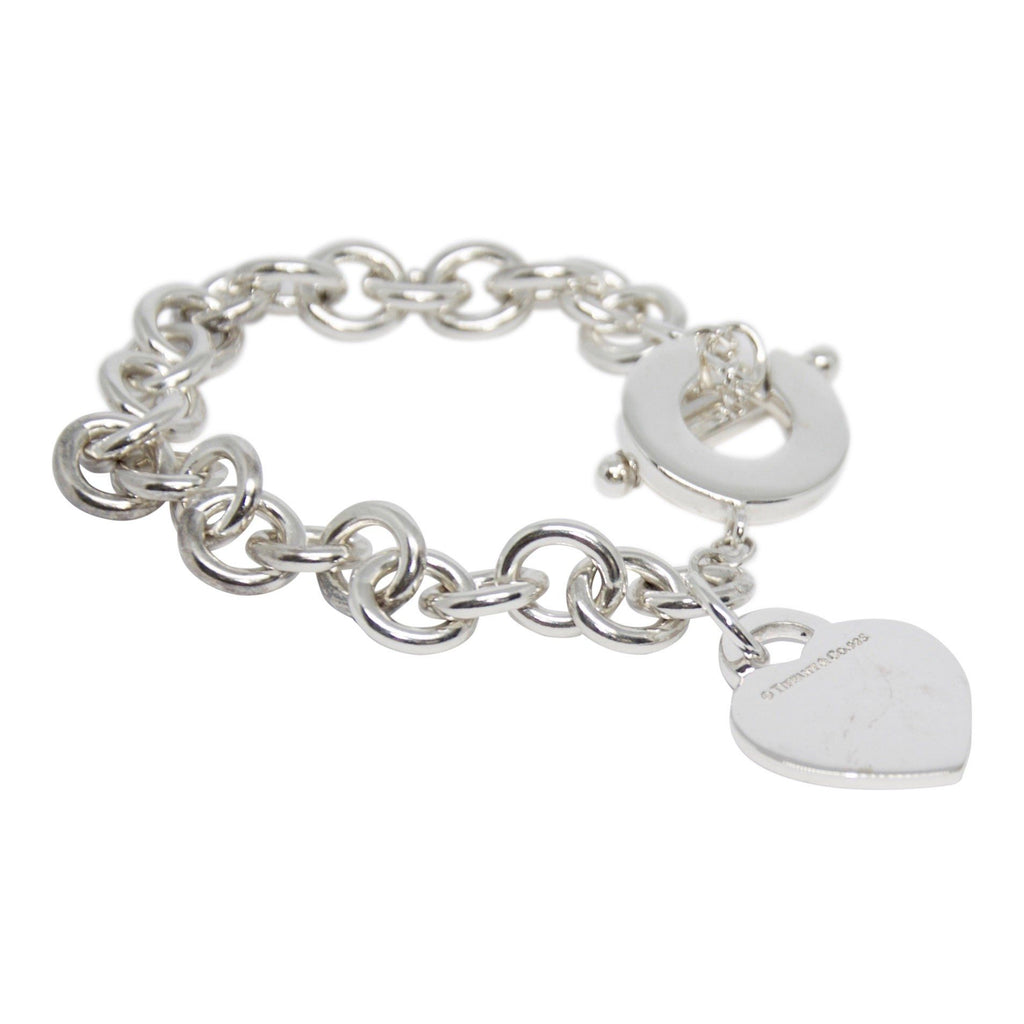 Tiffany & Co. Return to Tiffany Heart Tag Charm Bracelet with Toggle Clasp Bracelets Tiffany & Co.