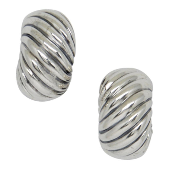 David Yurman Cable Classic Hoop Earrings - Earrings