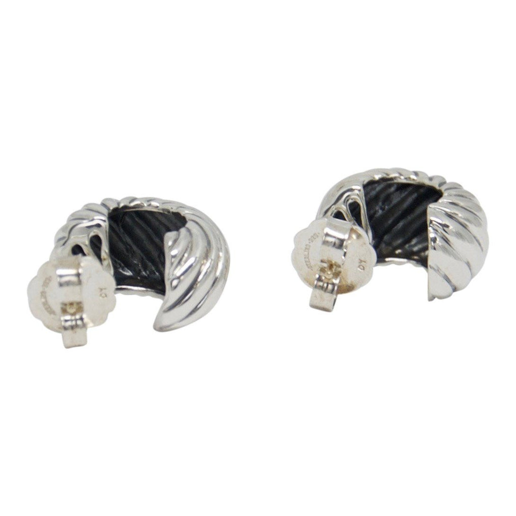 David Yurman Cable Classic Hoop Earrings Earrings David Yurman