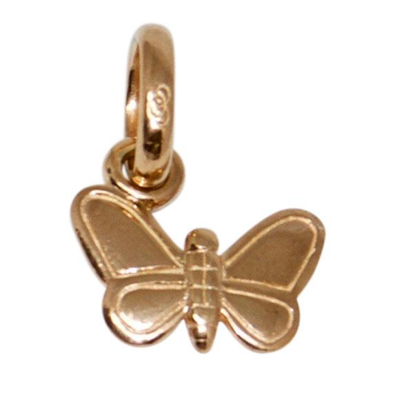 Links of London Rose Gold Vermeil Butterfly Charm Charms & Pendants Links of London