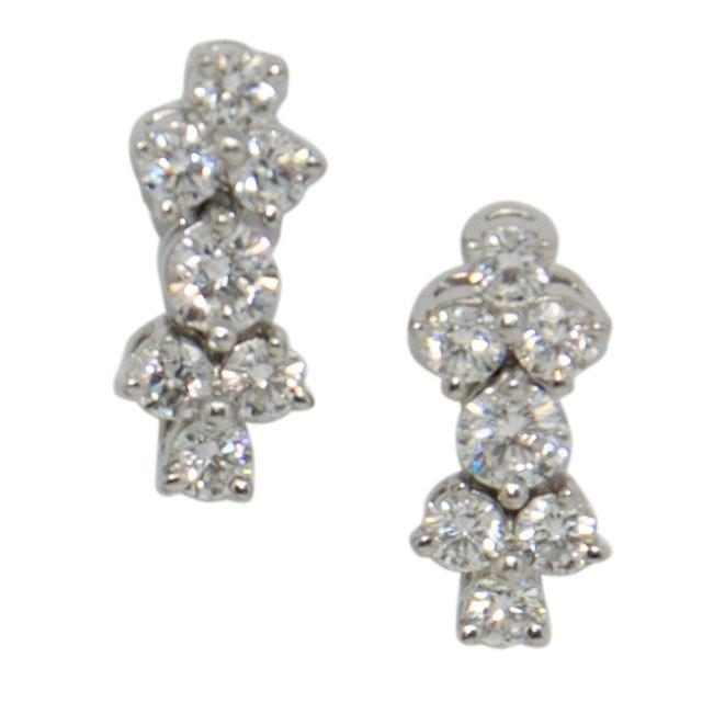 Tiffany & Co. Aria Diamond Earrings Earrings Tiffany & Co.