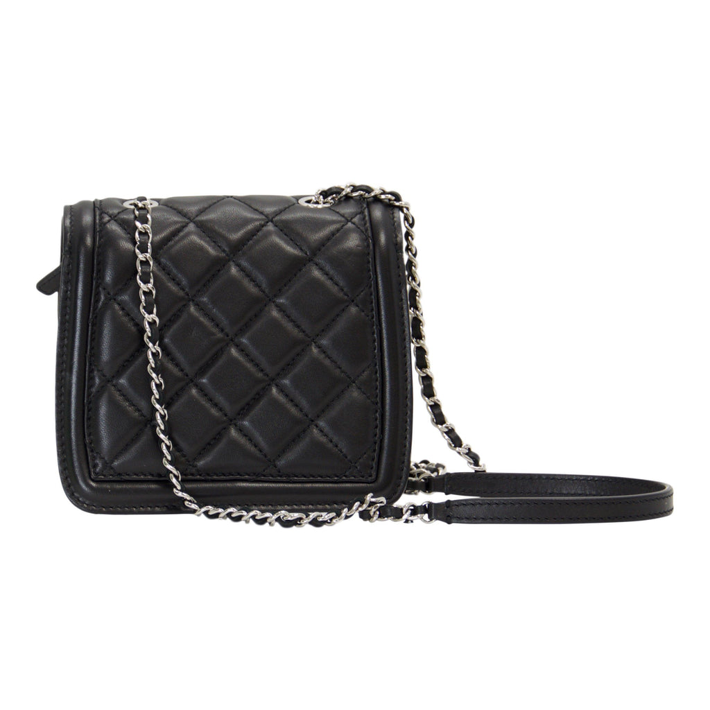 Chanel Graphic Accordion Mini Flap Bag - Bags