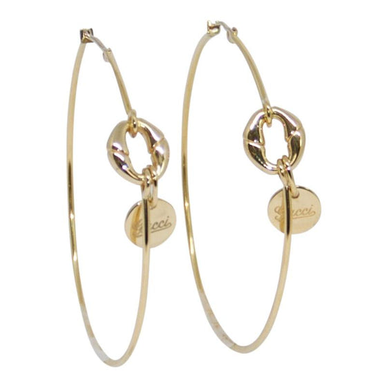 Gucci Metallic Horsebit Hoop Earrings Earrings Gucci