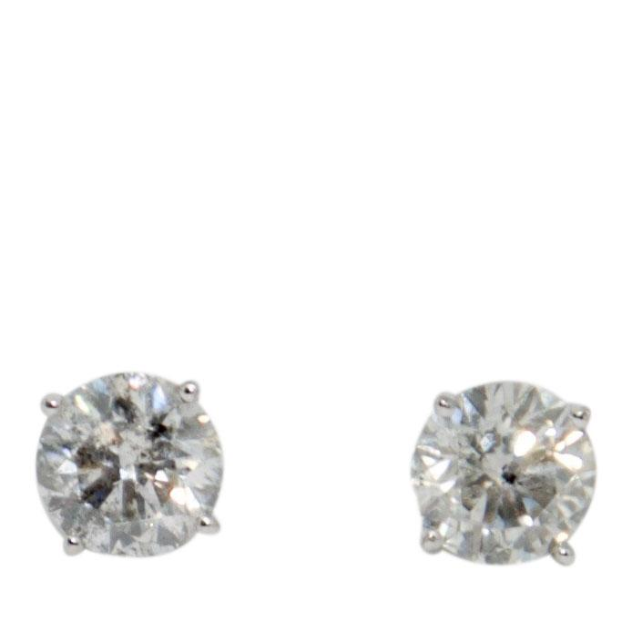 Effy Diamond Stud Earrings