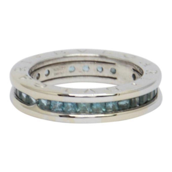 Bulgari B.Zero1 1-Band Ring with Blue Topaz Rings Bulgari