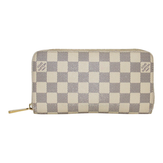 Louis Vuitton Damier Azur Zippy Wallet Wallets Louis Vuitton