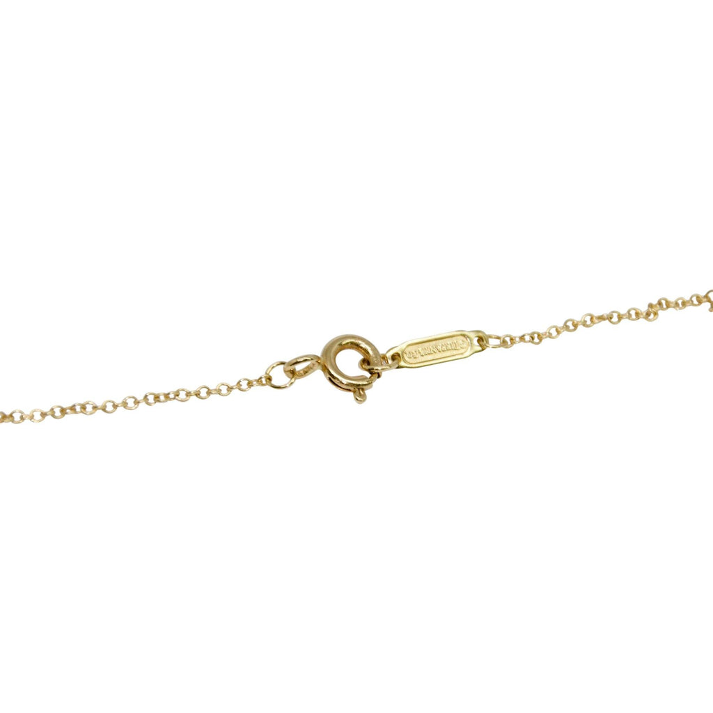 Tiffany & Co. Atlas Key Pendant Necklace With Diamonds - Necklaces