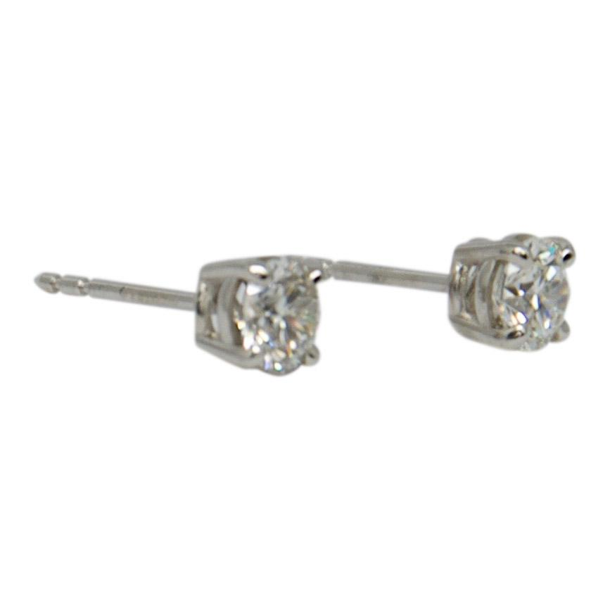 GIA Certified Diamond Stud Earrings Earrings Miscellaneous