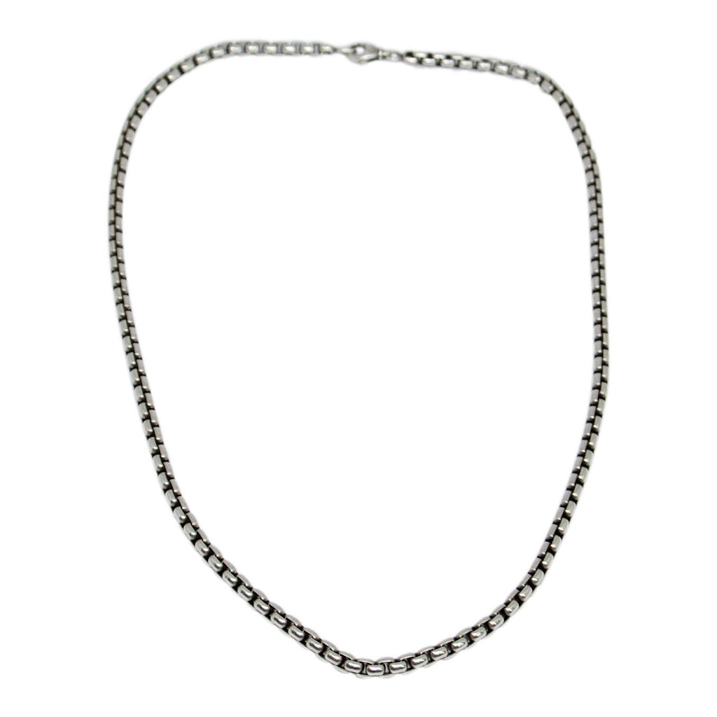 David Yurman Large Box Chain Necklace - Necklaces