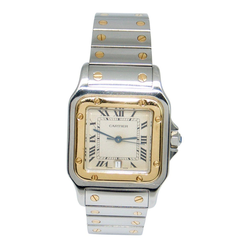 Cartier Two-Tone Santos Watch - Watches