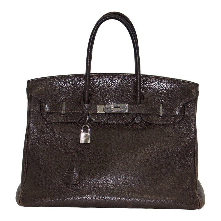 Hermes Brown Togo Birkin 35