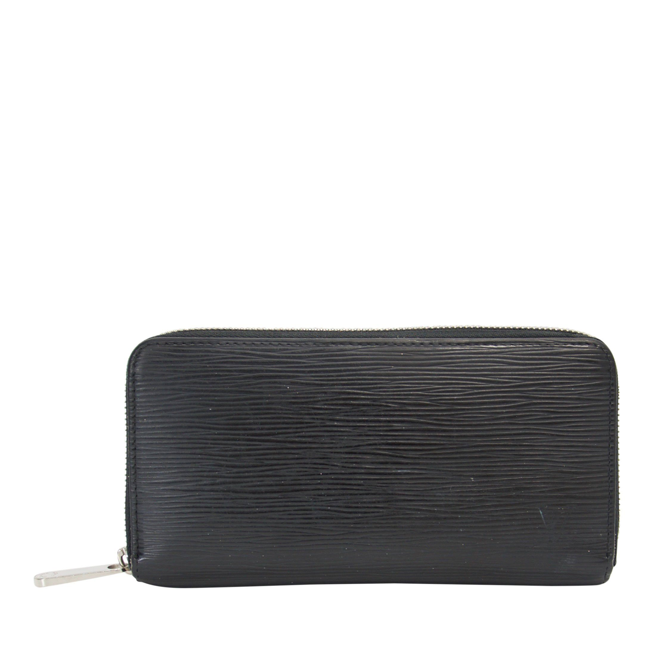 fa855915aa6d Louis Vuitton Black Epi Zippy Wallet Wallets Louis Vuitton ...