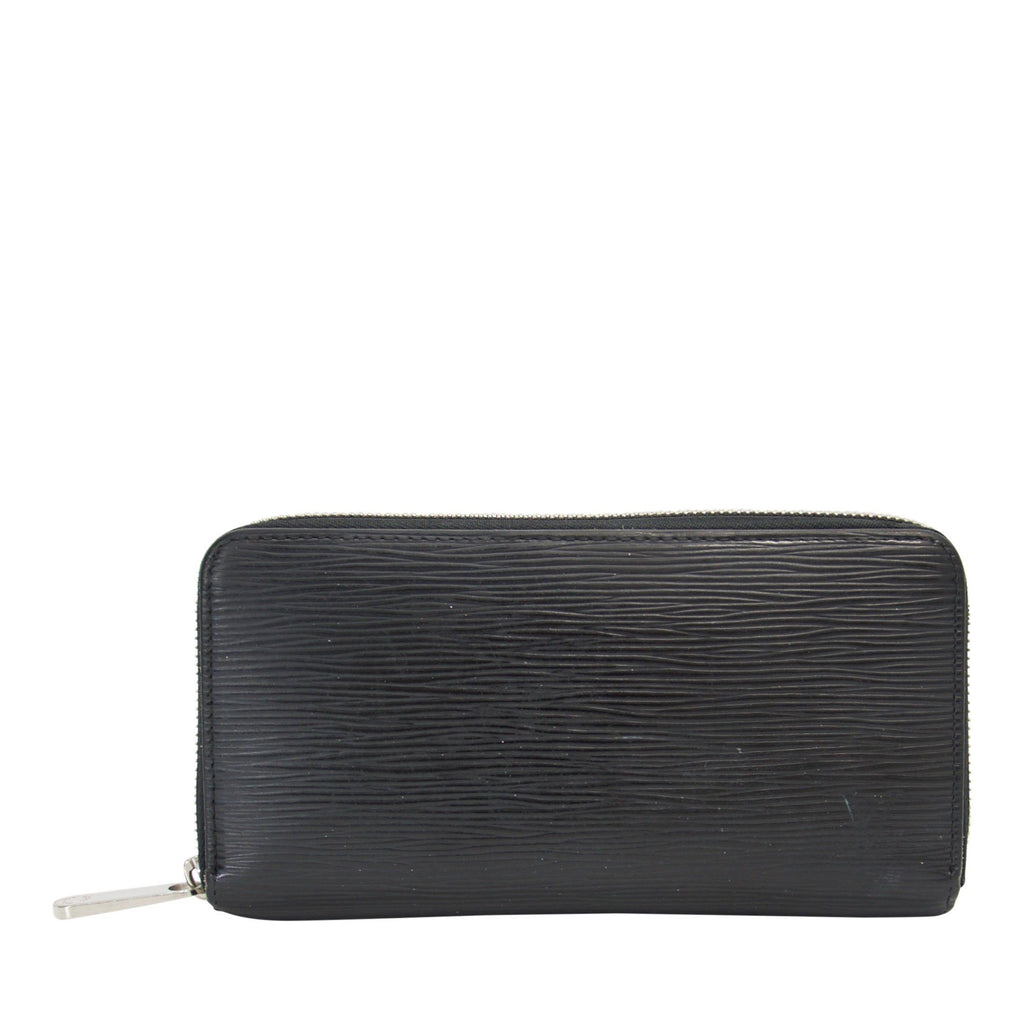 Louis Vuitton Black Epi Zippy Wallet Wallets Louis Vuitton