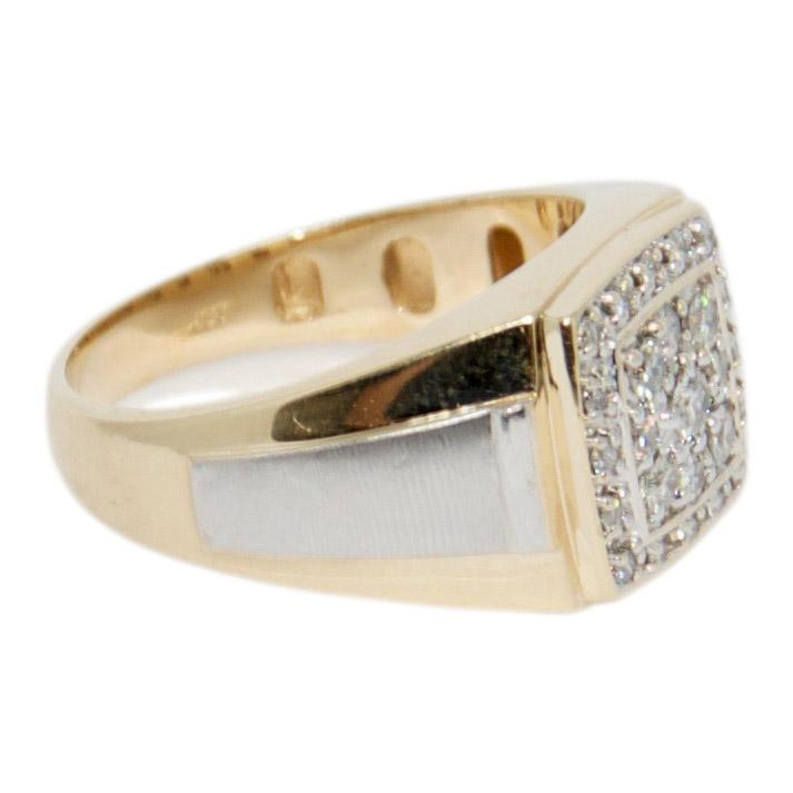 Gents Diamond Ring - Mens Jewellery