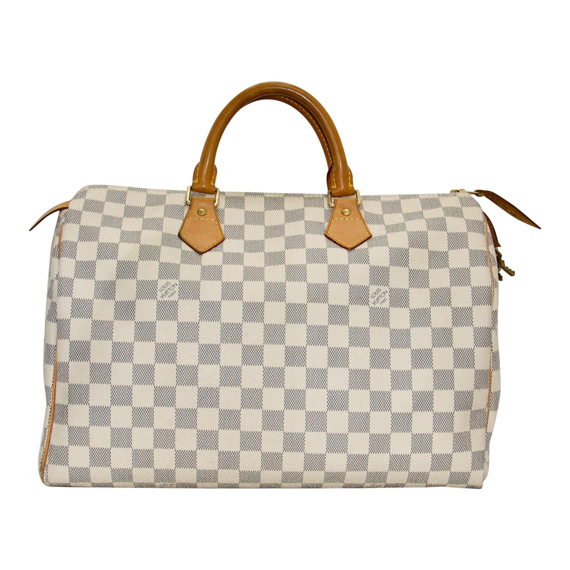 e80c3c78953 Louis Vuitton Damier Azur Speedy 35 - Oliver Jewellery