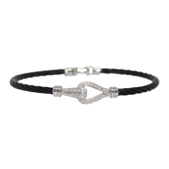 Charriol Diamond Cable Bracelet Bracelets Charriol