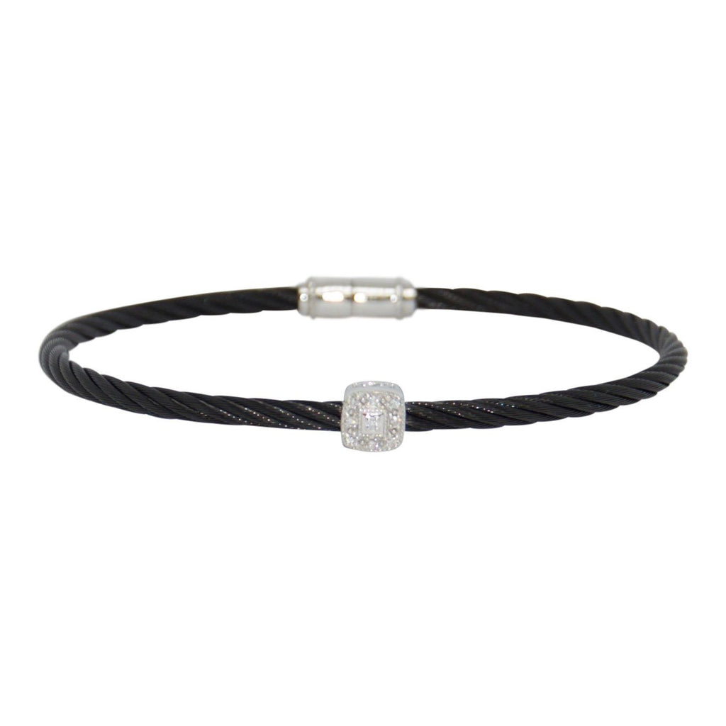 Charriol Diamond Station Cable Bracelet Bracelets Charriol
