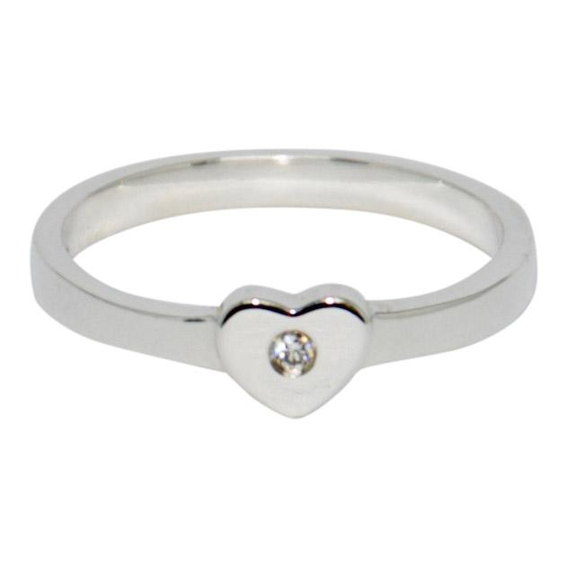 Tiffany & Co. Paloma Picasso Modern Heart Diamond Ring - Rings