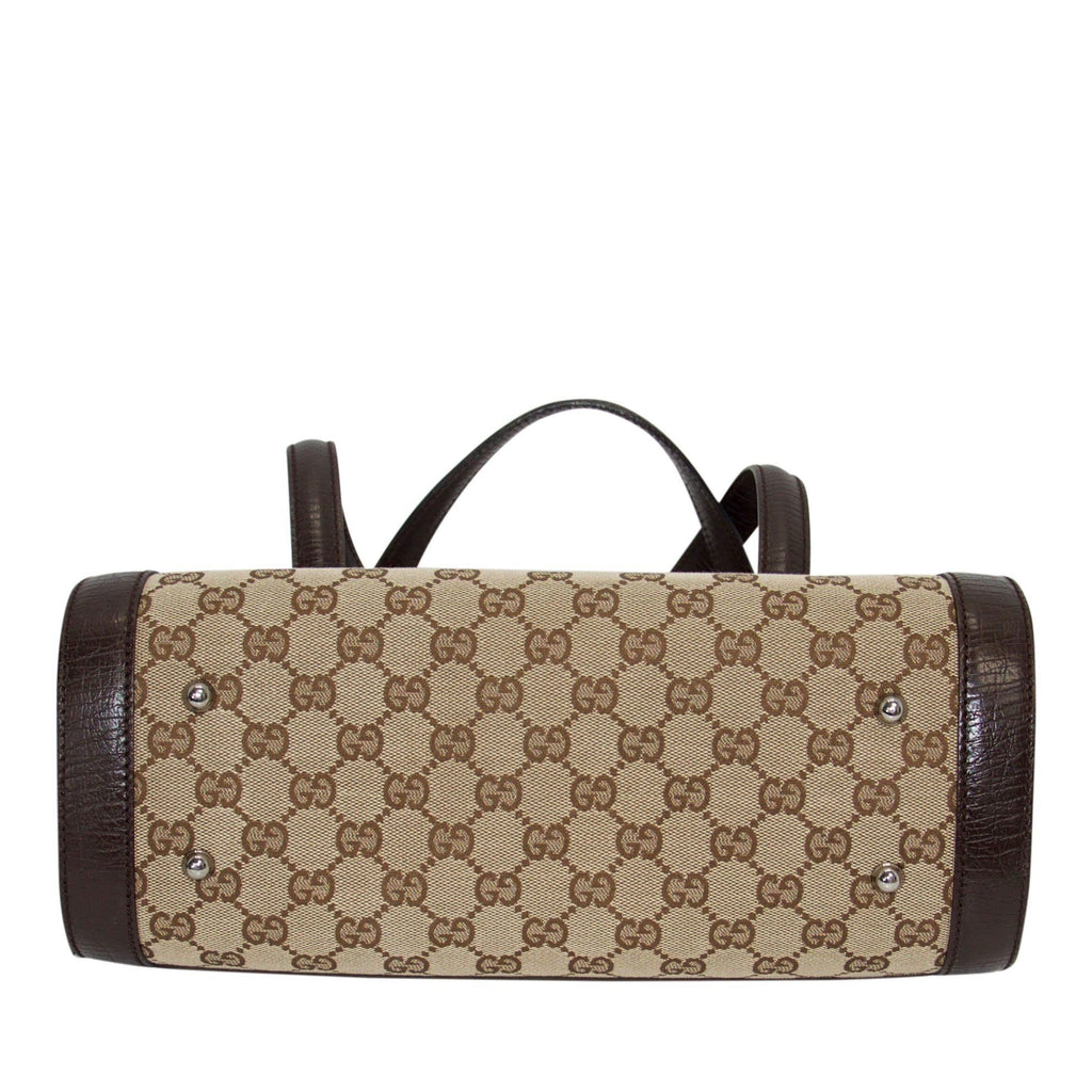 Gucci GG Canvas Bullet Bag