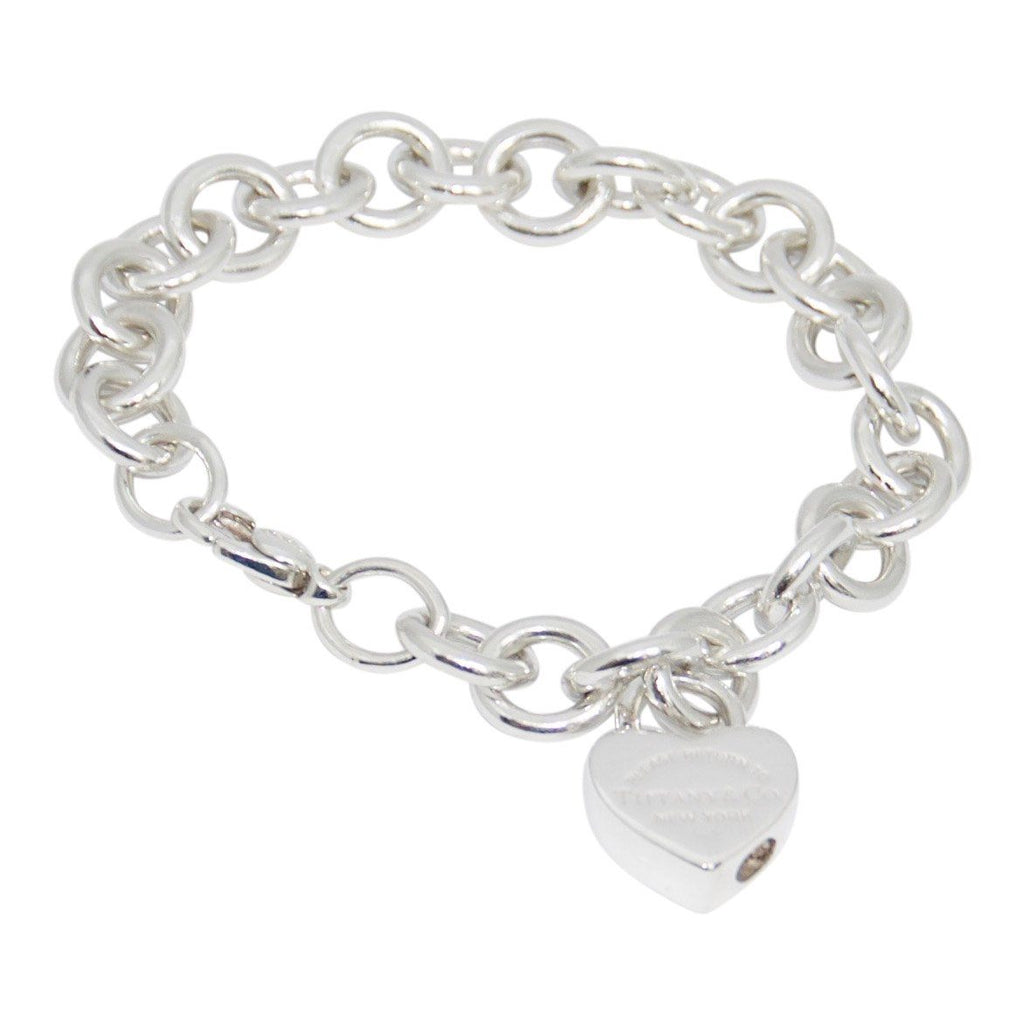 Tiffany & Co. Return To Tiffany Heart Lock Charm Bracelet - Bracelets