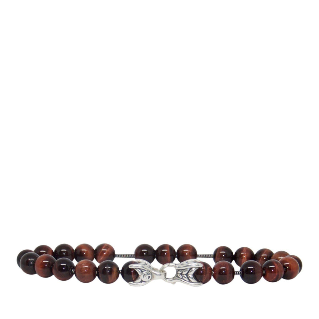 David Yurman Spiritual Beads Bracelet with Red Tiger's Eye Bracelets David Yurman