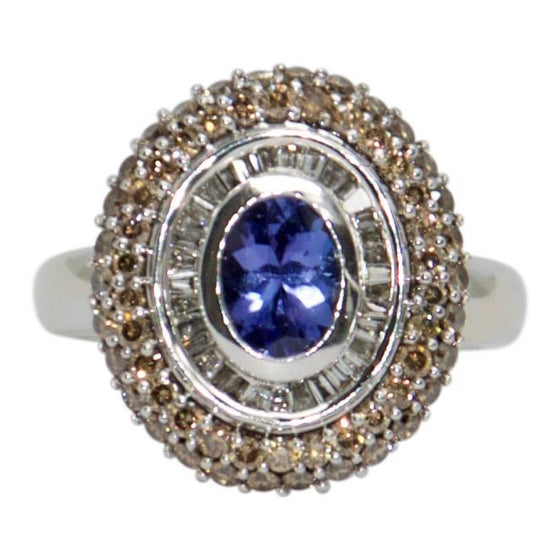 Effy Tanzanite and Diamond Ring Rings EFFY