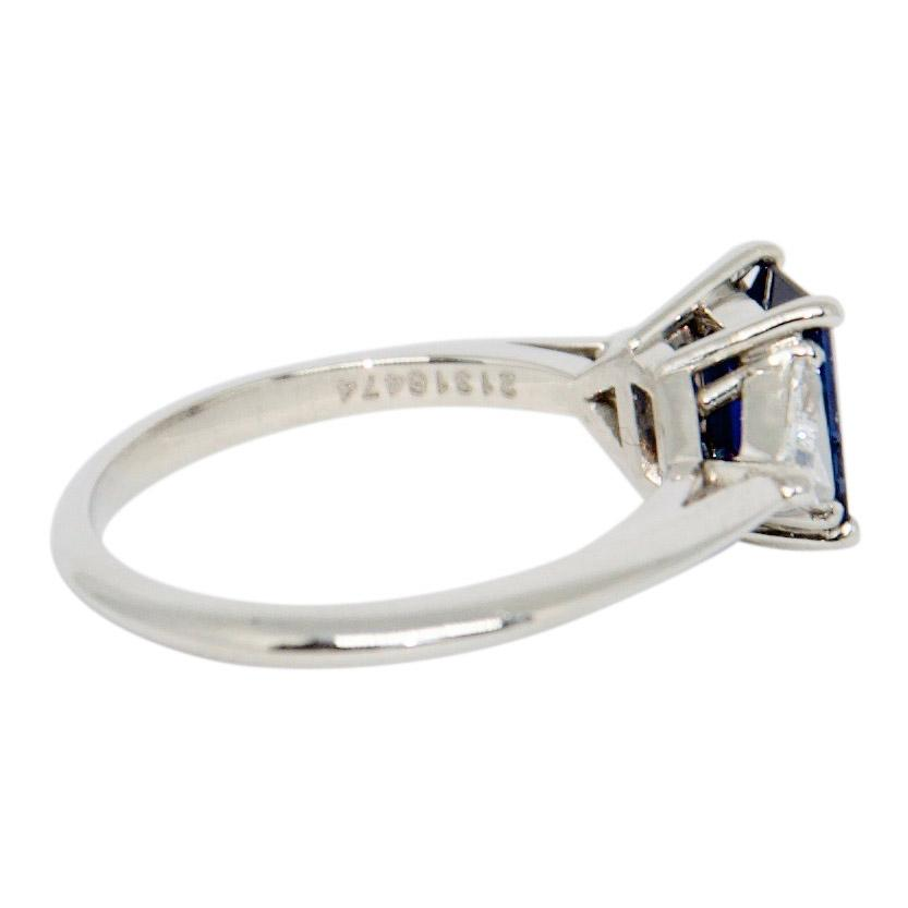Tiffany & Co. Sapphire And Diamond Cocktail Ring - Rings