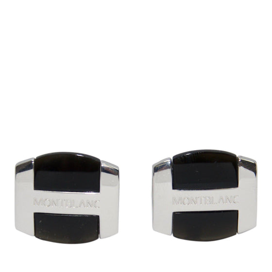 Montblanc Cufflinks with Black Onyx Men's Jewellery Miscellaneous