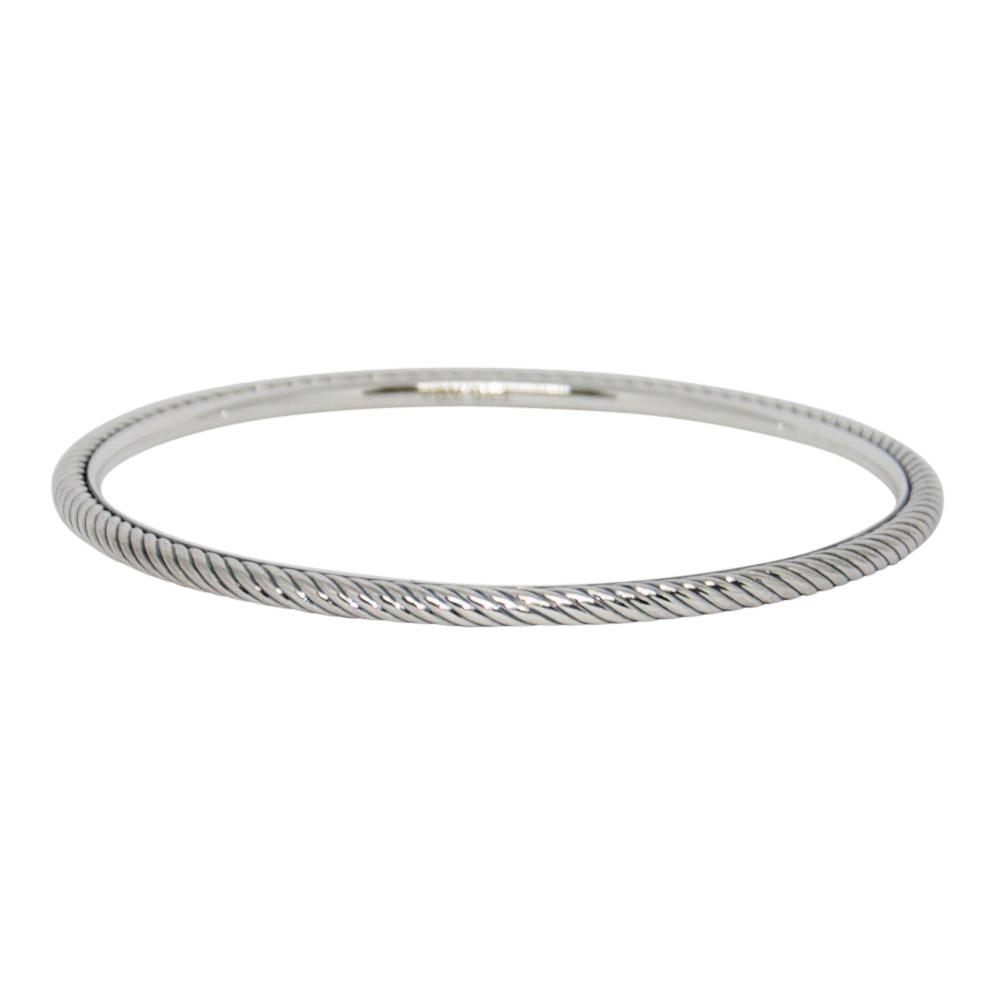 David Yurman Cable Classics Bangle - Bracelets
