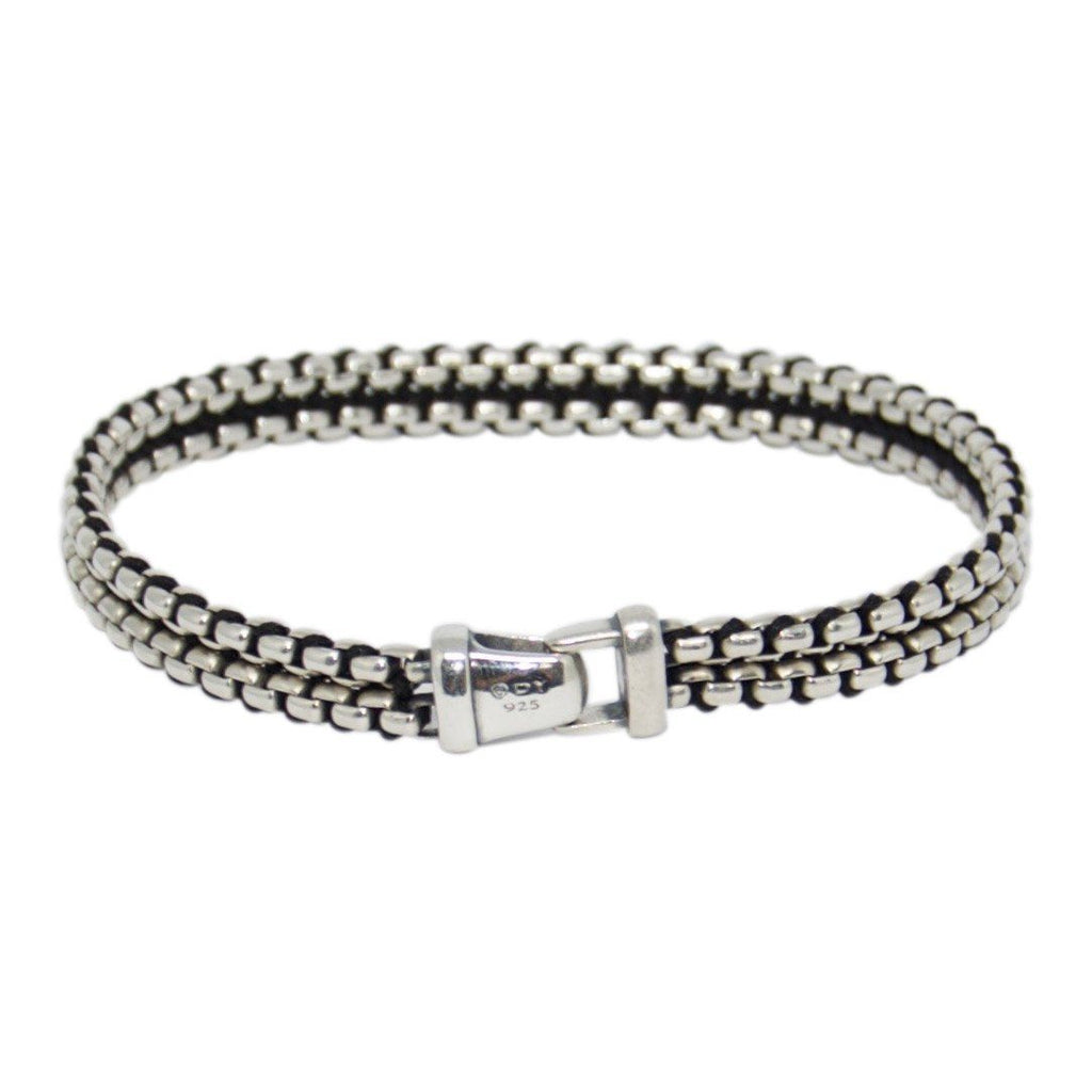 David Yurman Woven Box Chain Bracelet Bracelets David Yurman
