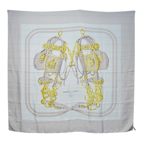 "Hermes ""Brides De Gala"" Silk Scarf Accessories Hermes"
