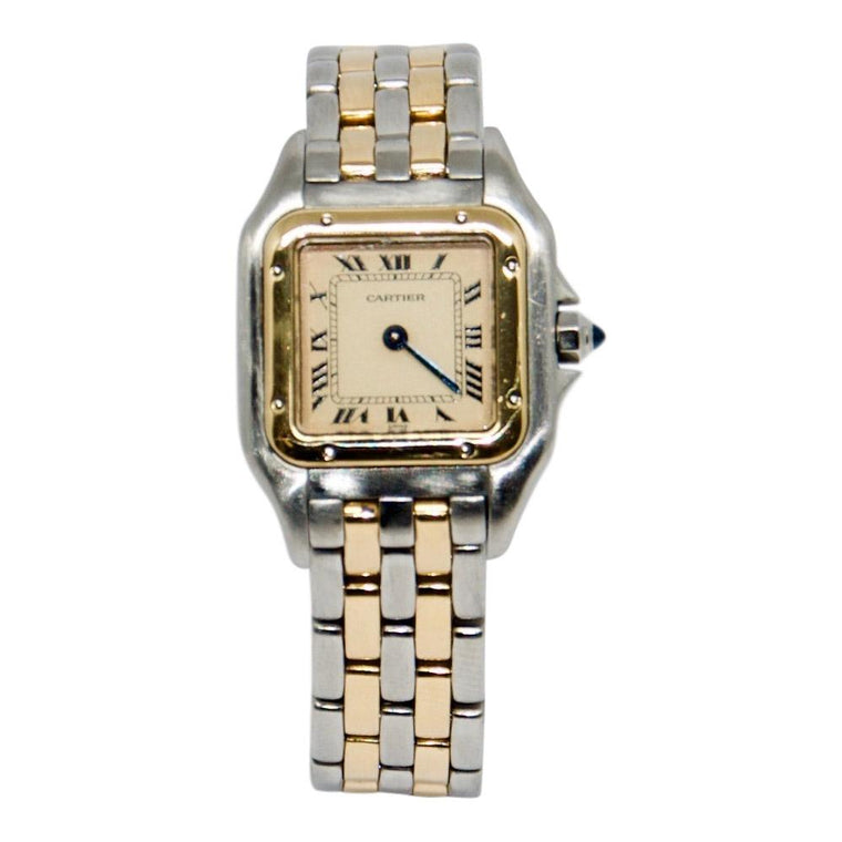 Cartier 2-Tone Panthere Watch