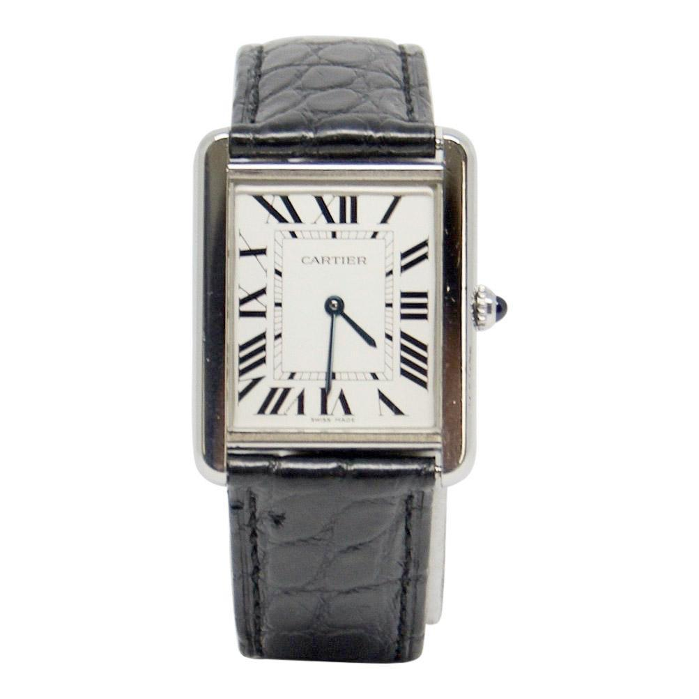 Cartier Tank Solo Watch Large Model - Watches