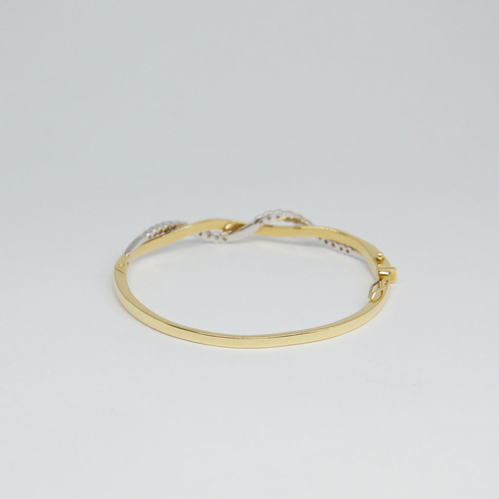 Diamond Bangle Bracelet - Bracelets
