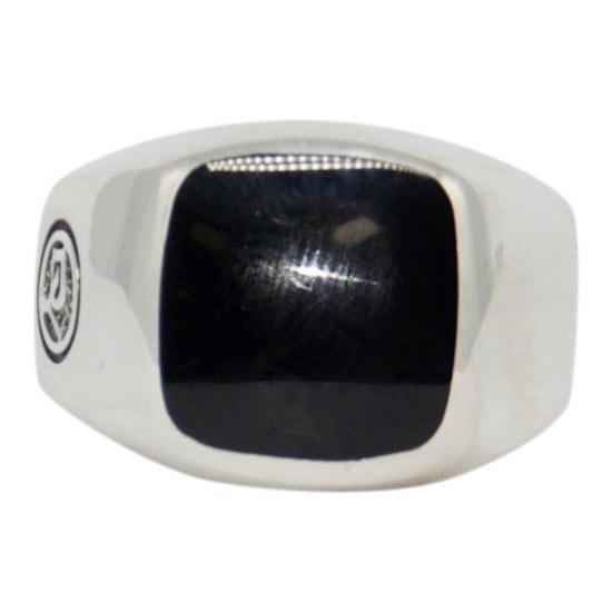 David Yurman Black Onyx Exotic Stone Signet Ring Men's Jewellery David Yurman