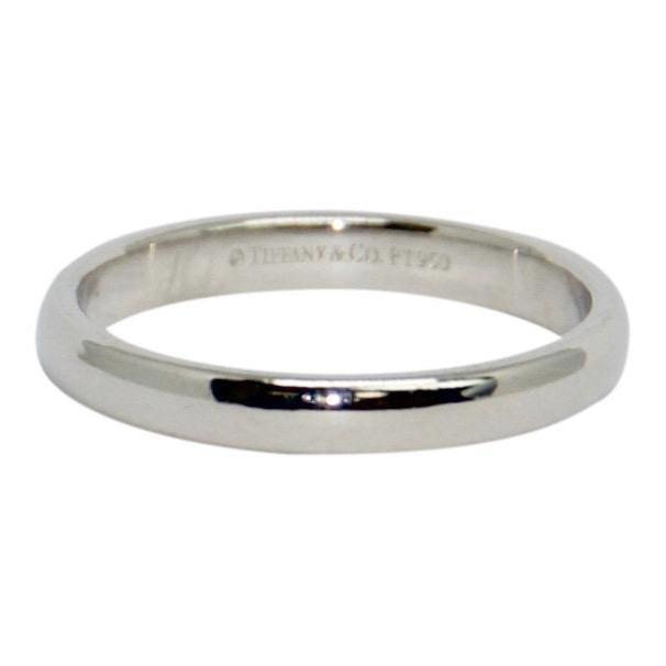 Tiffany & Co. Platinum Classic Wedding Band Ring Rings Tiffany & Co.
