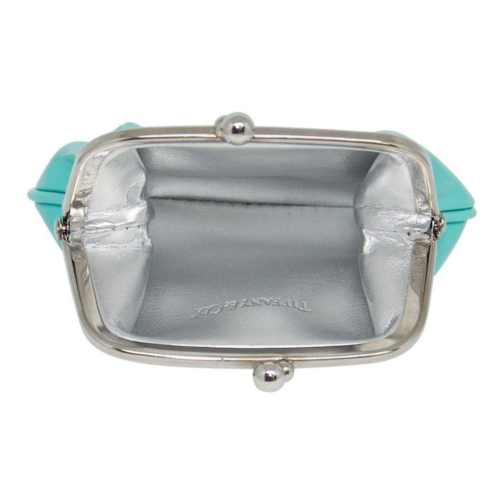 Tiffany & Co. Patent Leather Kiss-Lock Coin Purse