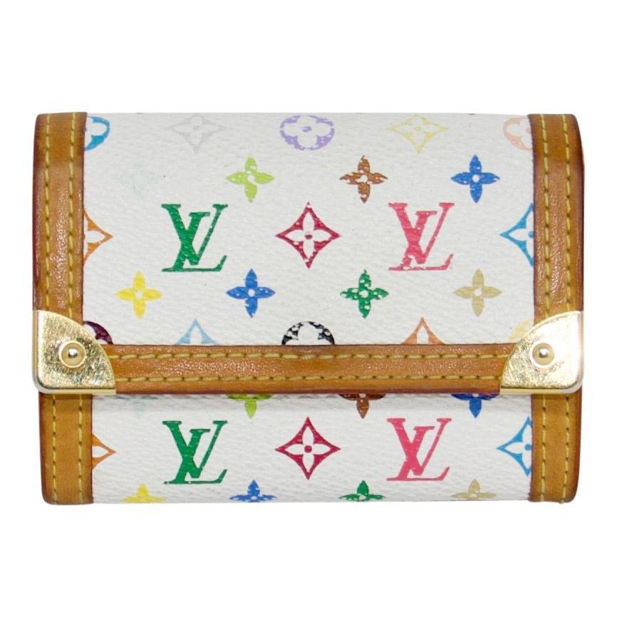 Louis Vuitton Multicolore Business Card Holder Wallets Louis Vuitton