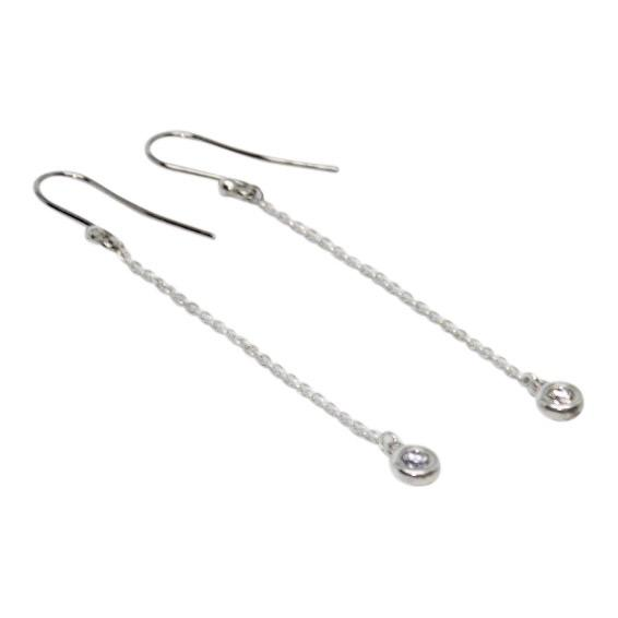 Tiffany & Co. Elsa Peretti Diamonds by the Yard Drop Earrings